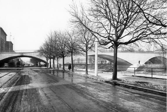 Die Kornhausbrücke, 1930
