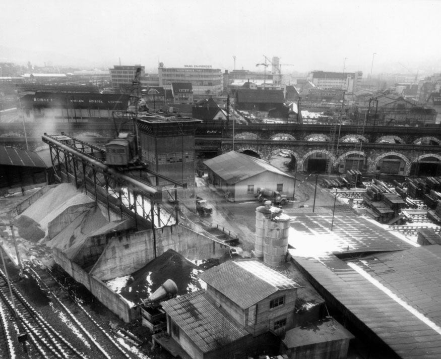 Die Viaduktstrasse 39, 1971