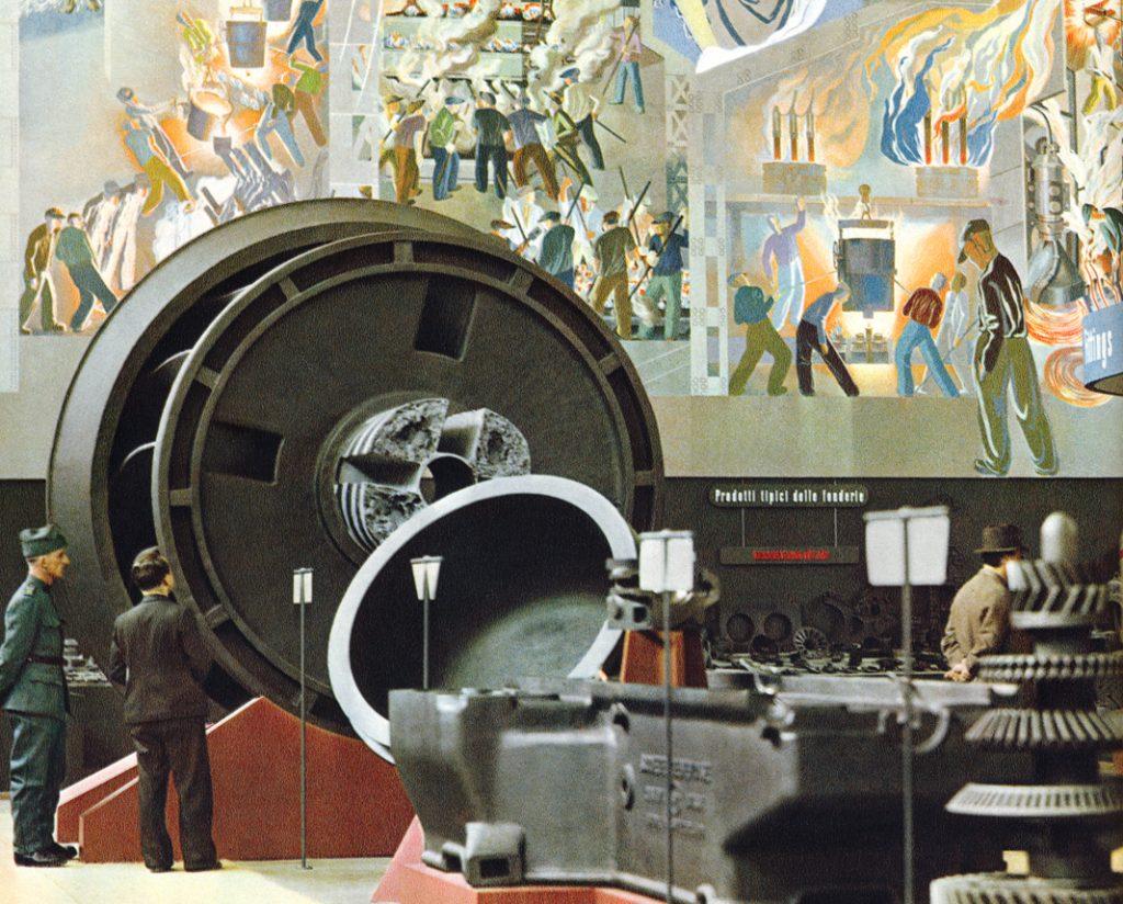 Das Wandbild von Otto Morach an der Landi39